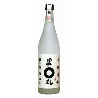 黒丸 黒麹仕込 (25度/720ml)