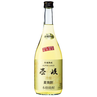 麦焼酎 壱岐スーパーゴールド (22度/720ml)