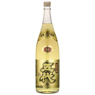 麦焼酎 五代麦長期貯蔵酒(ゴールド) (25度/900ml)