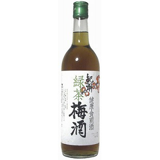 紀州 緑茶梅酒(720)(9010017)