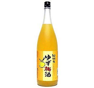 紀州  ゆず梅酒(720)(9010082)