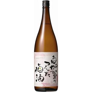 白加賀でつくった梅酒 (12度/1.8L)(9010146)