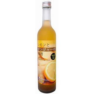 レモンとジンジャーの梅酒(500)(9010150)