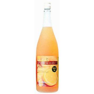 レモンとジンジャーの梅酒 (12度/1.8L)(9010151)
