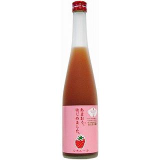 篠崎 あまおう梅酒 (6度/500ml)(9010185)