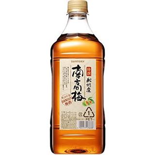 サントリー梅酒 特撰 紀州産南高梅 ペットボトル (14度/1.8L)(9010186)