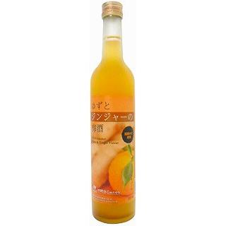 ゆずとジンジャーの梅酒(500)(9010210)