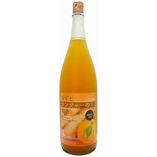 ゆずとジンジャーの梅酒(1800)(9010211)