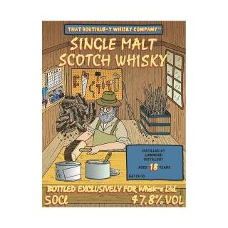 ブティックウイスキー・リンクウッド バッチ10 18年(47.8度/500ml)<予約商品・12月中旬より出荷予定>
