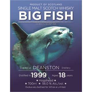 ビッグフィッシュ・ディーンストン1999/18年 (56度/700ml)<予約商品・7月下旬より出荷予定>¶