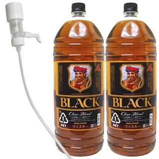 ブラックニッカ・クリアブレンド(37度/4L)(1052059)×2本ご購入で定量ディスペンサー1つプレゼント<景品は同梱>