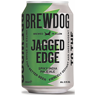 ジャギッドエッジ・スパイキーIPA 缶 (5.1度/330ml)×1ケース(24本) <予約商品・1月末頃より出荷予定>¶