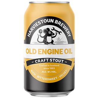 ハービストン・オールドエンジンオイル クラフトスタウト 缶(6度/330ml×24本) <予約商品・3月中旬より出荷予定>
