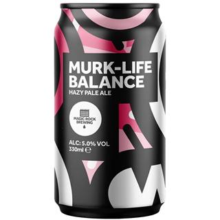 マジックロック マークライフバランス ヘイジーペールエール 缶 1ケース (5度/330ml×24本)<予約商品・10月末頃より出荷予定>¶