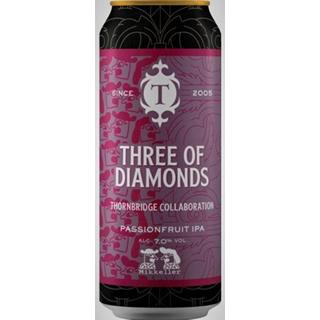 スリー オブ ダイアモンド  パッションフルーツIPA 缶 1ケース (7度/440ml×12本)<予約商品・9月末~10月上旬頃より出荷予定>※賞味期限:2021年12月11日 ¶