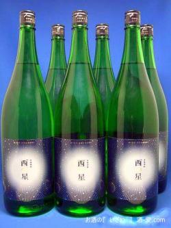 大分むぎ焼酎いいちこ 西の星(にしのほし) ソフト20度 1800ml瓶 ケース(6本入り) 大分県宇佐市 三和酒類