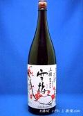 【大分の旨い地酒】清酒上撰 雪梅(せつばい) 糖類無添加 1800ml 大分県日田市 老松酒造