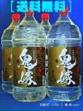 本格芋焼酎 鬼嫁(おによめ) 25度 4000mlペットボトル 1ケース(4本) 鹿児島県曽於市 岩川醸造