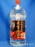 ひむか寿 赤芋仕込み (あかいもしこみ) 本格芋焼酎 20度 4000mlペット 宮崎県 寿海酒造