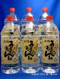 本格むぎ焼酎 うまかもんね(ウマカモンネ) 25度 2700ml(2.7) ペットボトル ケース(6本) 宮崎県高千穂町 神楽酒造