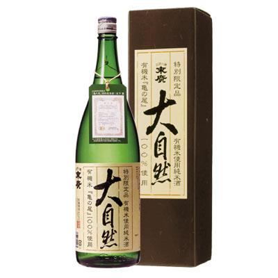 純米酒 大自然 1.8L