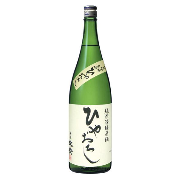 ひやおろし純米吟醸原酒 1.8L