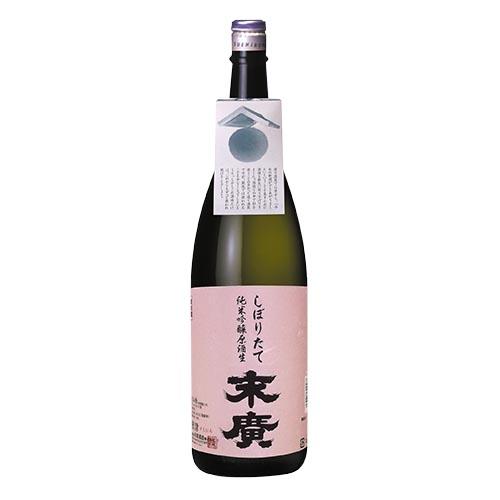 しぼりたて純米吟醸原酒生 1.8L