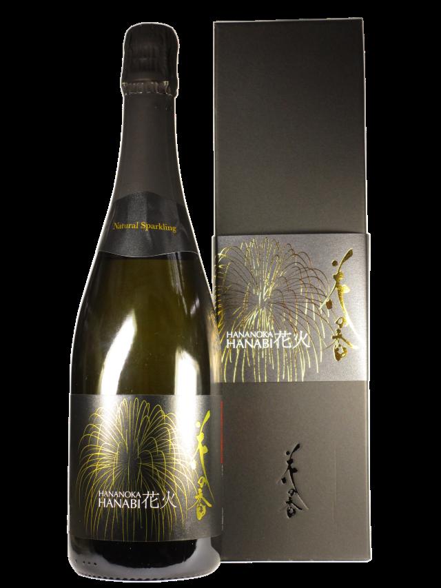 【日本酒】純米大吟醸 花の香「花火」瓶内二次発酵