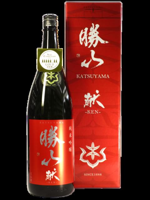 勝山 純米吟醸 献 -KEN- 1800ml