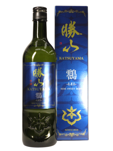 【日本酒】勝山 純米吟醸 スイートボディー 鴒 -LEI-