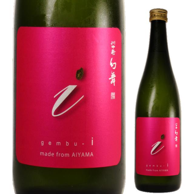 【日本酒】川中島 幻舞 純米吟醸 愛山 無濾過生原酒【29BY】