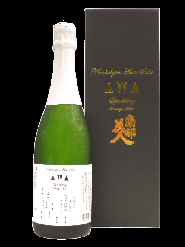 【日本酒】南部美人 あわさけ 瓶内二次発酵スパークリング(箱付)【限定酒】