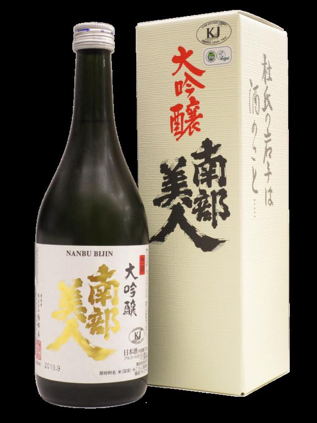 【日本酒】南部美人 大吟醸 箱付 720ml