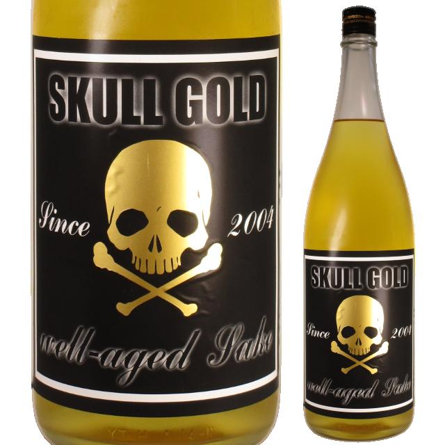 【日本酒】両関 純米大古酒 SKULL GOLD【特約店限定酒】