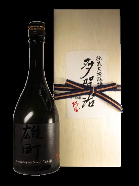 【日本酒】多賀治 純米大吟醸 雄町 無濾過火入原酒 箱入【限定酒】