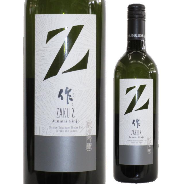 【日本酒】作 純米吟醸 Zラベル 750ml