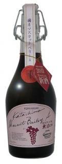 酸化防止剤無添加・新酒・マスカットベリーA(カタシモワインフード)