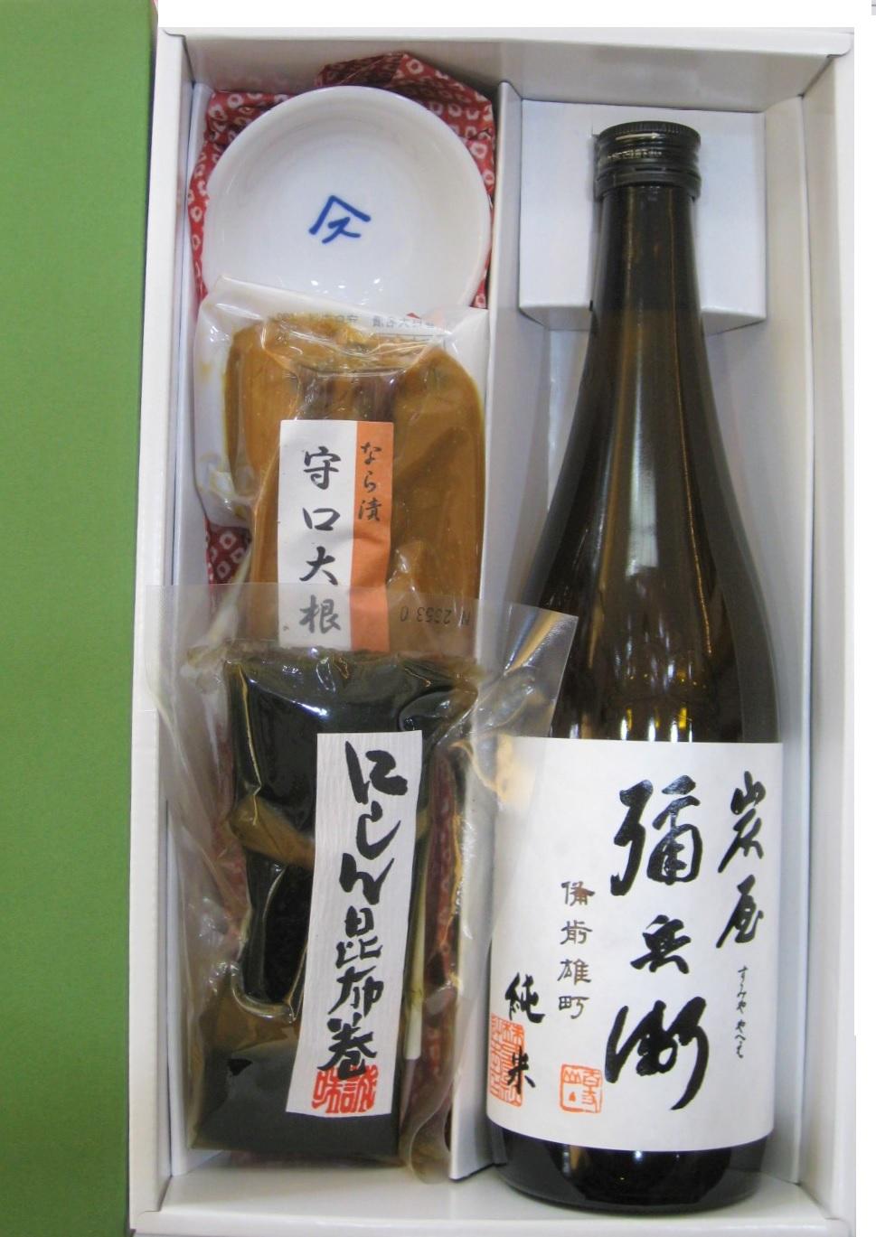 日本酒と珍味・父の日セット(酒のにしだ)