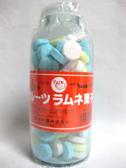 シマダのフルーツラムネ菓子
