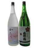 片野桜、純米吟醸・純米1800ml瓶2本セット