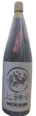 純米酒・上神谷1800ml