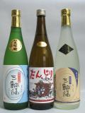 井坂酒造場謹製 三輪福(みわふく) 純米大吟醸・純米・原酒(だんじりラベル) 各720ml 飲み比べ3本セット 化粧箱入