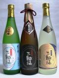 三輪福(みわふく) 純米大吟醸、純米大吟醸・米の華、純米 各720ml 飲み比べ3本セット