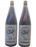 上神谷、純米吟醸・純米酒1800ml、2本セット