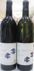 丹波ワイン、サンジョベーゼ・ピノブラン、赤白2本セット