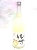 梅乃宿 ゆず酒 720ml瓶