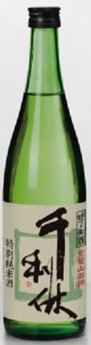 大阪府堺市:堺泉酒造謹製 千利休 特別純米酒 720ml瓶