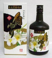 鹿児島県:沖永良部酒造謹製 黒糖焼酎 古酒 白ゆり 40度 720ml瓶