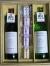 大阪産ブドウが原料のワイン・赤白(各720ml)と、優秀和菓子職人がつくる「夏の創作水菓子」父の日セット