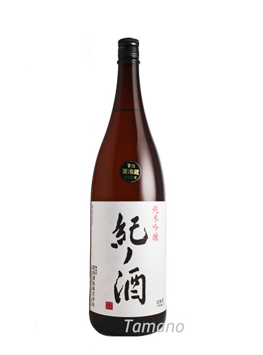 紀ノ酒 純米吟醸 生原酒 1800ml 【和歌山】